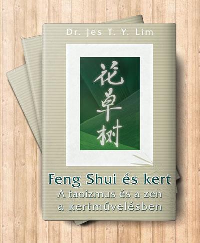 A Feng Shui és kert című könyv borítója
