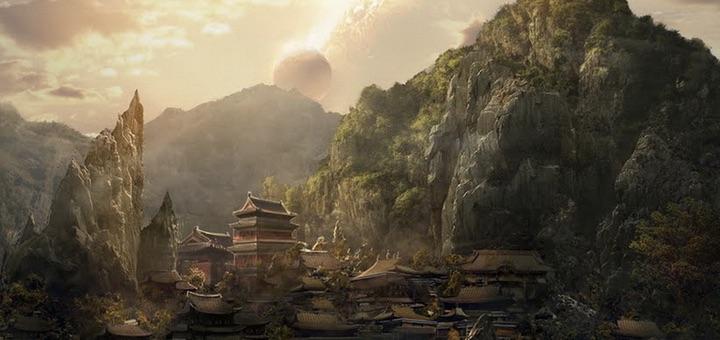 A taoizmus hangulatához illő kép