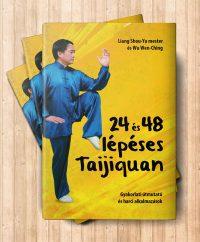 24 és 48 lépéses taijiquan könyv borítója