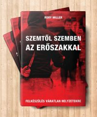 Szemtől szemben az erőszakkal könyv borítója